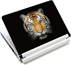 Laptop Stickers Decal,12 13 14 15 15.6 inches Netbook Laptop Skin Sticker Reusable Protector Cover Case for Toshiba Hp Samsung Dell Apple Acer Leonovo Sony Asus Laptop Notebook (Tiger)