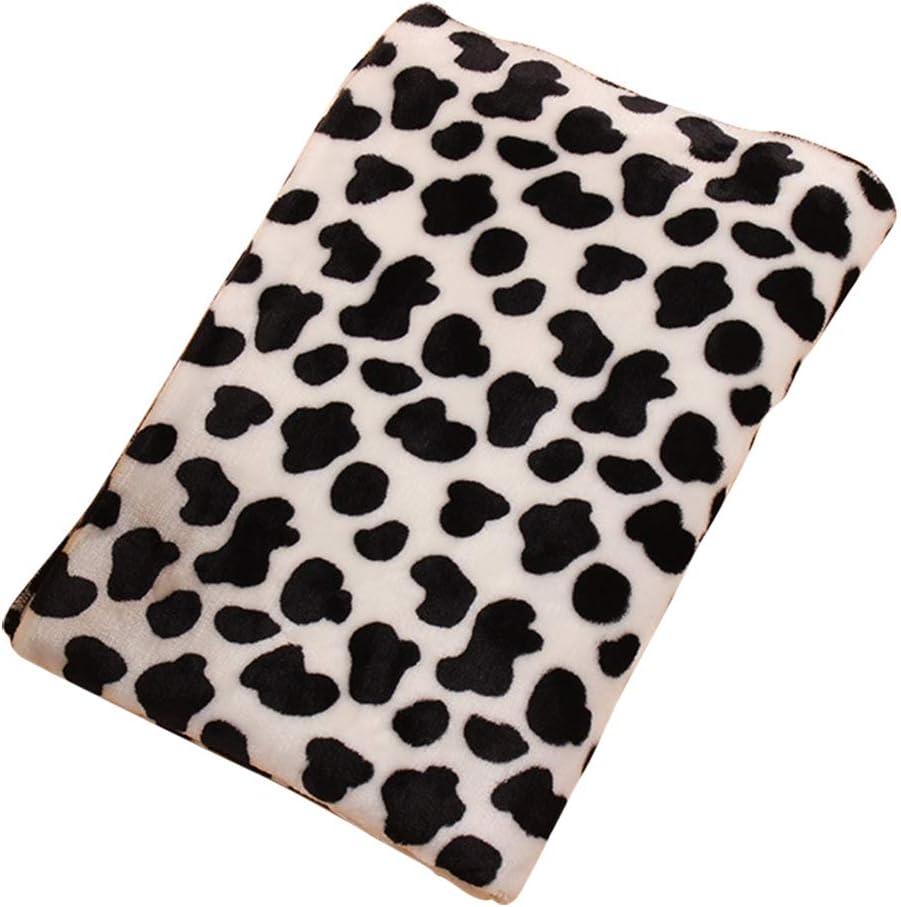 Manta para Gato Color Leopardo Asiento para Mascotas Size S-60 * 40CM Hosaire 1x Alfombra de Terciopelo Coral Gruesa de Patr/ón Colorido Oto/ño e Invierno Manta C/álida Cama para Perro