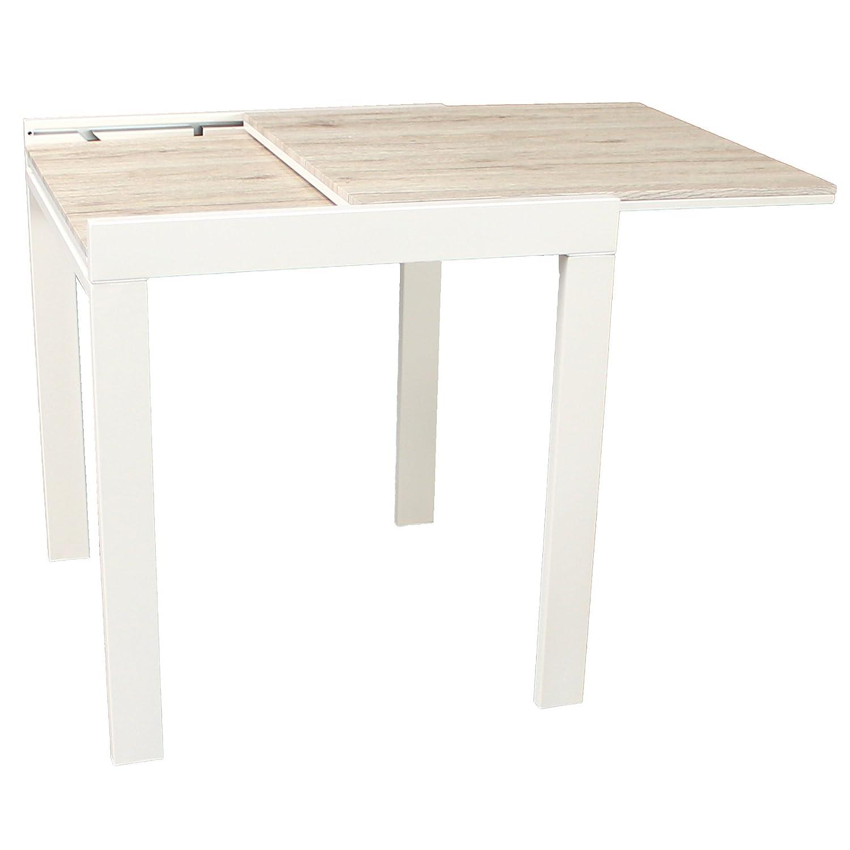 Table Bar ModSanremo Extensible 70x140 Cm Yelloo Cuisine 70x70 CsxBohQrtd