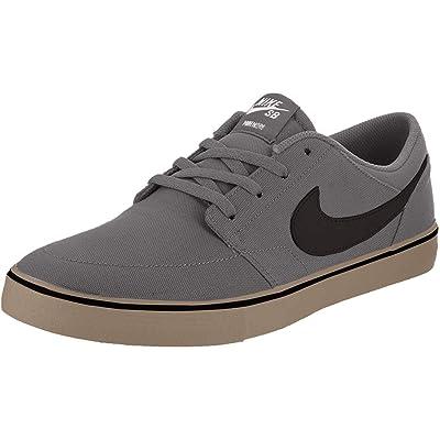 Nike Men's Sb Portmore Ii Solar Canvas Ankle-High Skateboarding Shoe | Skateboarding