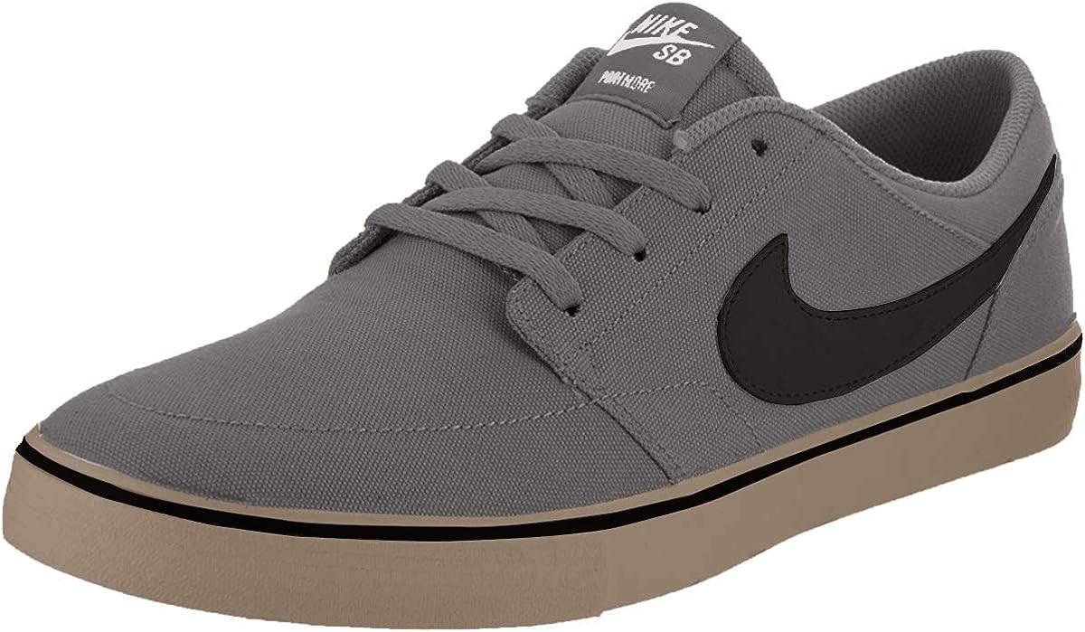 foro facultativo patrón  Amazon.com | Nike Sb Portmore Ii Solar CNVS Mens Style: 880268-009 Size: 6  M US Dark Grey/Black | Fashion Sneakers