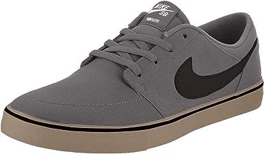 Nike Sb Portmore Ii Solar - Zapato de skate de lona con longitud al tobillo, para hombre