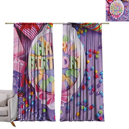 Cortinas opacas para ventana de Tr.G, cortinas con bolsillo ...