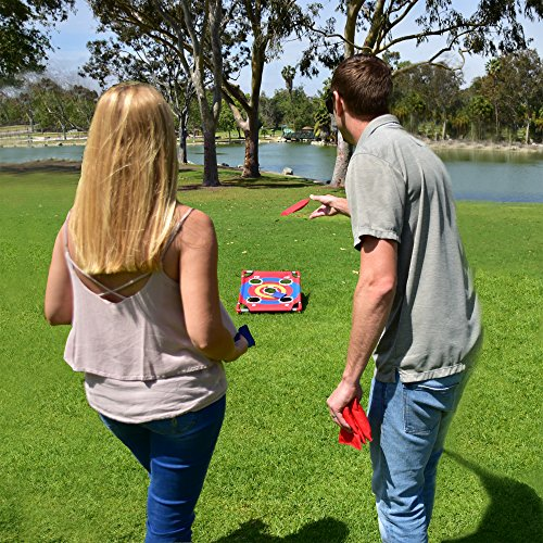 61XJOz3%2B8yL - GoSports Bullseye Bounce Cornhole Toss Game - Great for All Ages & Includes Fun Rules