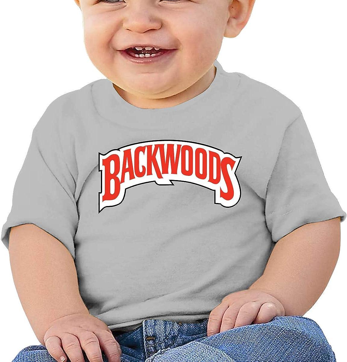 HUCON Backwoods Little Baby Girls Boys T Shirt Cute Crew Neck Tee Shirt