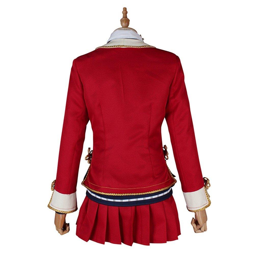 Love Live! Sunshine! Aqours Dia Kurosawa Red Leaves Cosplay Costume by starfun (Image #3)