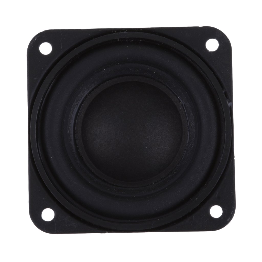 P Prettyia Nuevo 40mm 4Ohm 3W Altavoz De Audio De Rango Completo Hi-Fi De Sonido Est/é 16 Bobina Negro