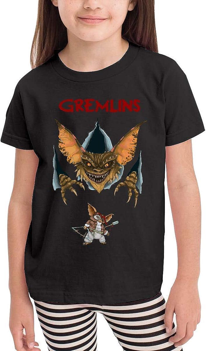 CXHKJ Gremlins Kids Tshirt for Girls /& Boys Black