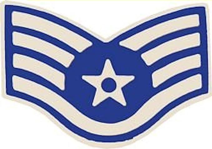 20df6cf1123 Amazon.com  U.S. Air Force E-5 Staff Sergeant Small Hat Pin ...
