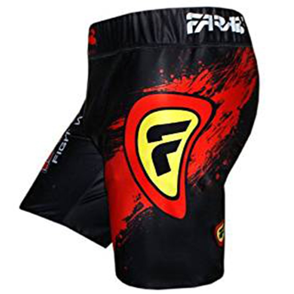 MMA vale tudo short grappling fight training match compression tight by farabi Farabi Sports