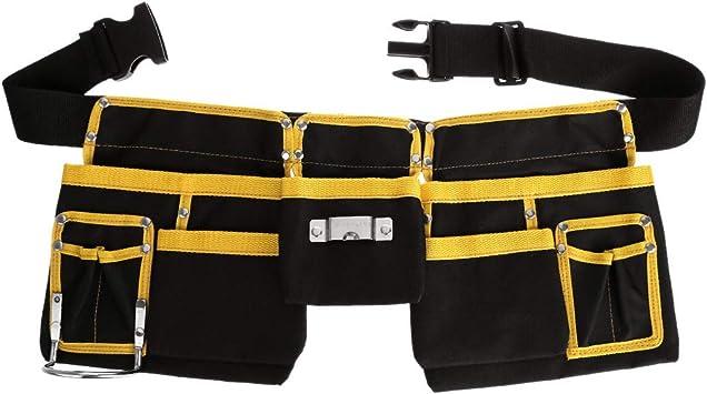 Electrician Tool Bag Waist Pocket Utility Pouch Belt Storage Holder Organizer