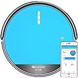 Aspirapolvere Robot, Proscenic 811GB Intelligente Blu(2 in 1: robot aspirapolvere e lavapavimenti), Con app e controllo Telecomando, serbatoio dell'acqua elettrico, Ricarica automatica