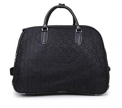 eab0b7926 Craze London Travel Holdall Bags Hand Luggage Design Print Weekend Wheeled  Trolley Bag