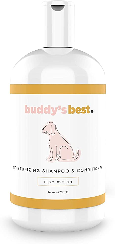 Buddy's Best, Natural Dog Shampoo and Conditioner