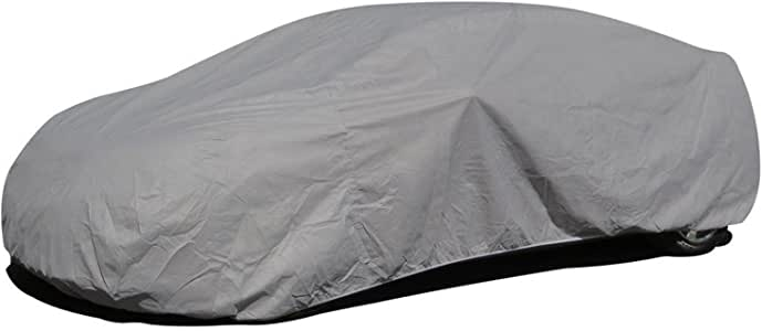 "Budge Lite Station Wagon Cover Indoor, Dustproof, UV Resistant Station Wagon Cover Fits Full Size Station Wagons up to 216"", Gray"