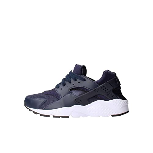 Nike Huarache Run (GS) Schuhe obsidian-obsidian-black-white - 36 adbf11eedfa