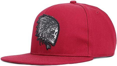 Wxtreme Bordado Calavera Gorras de béisbol Sombreros Hip Hop ...