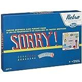 Hasbro Retro Series Sorry! 1958 Edition Board Game