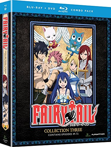 Blu-ray : Fairy Tail: Collection Three (With DVD, 2 Disc)