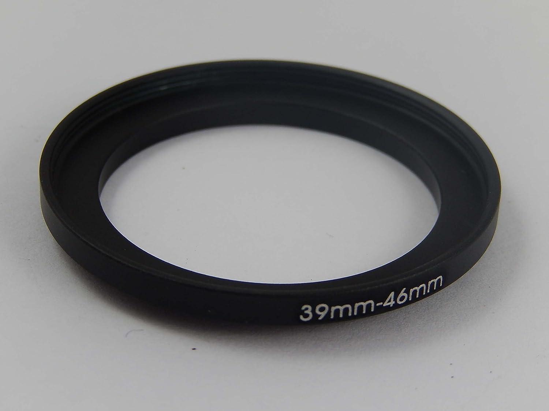 lens vhbw black metal step UP filter adapter 39mm-46mm for camera lens hood filter lens converter