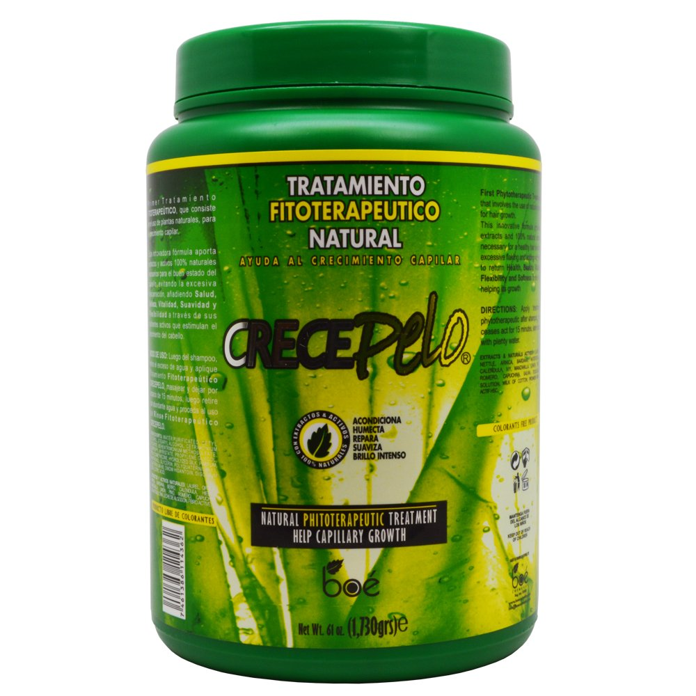 Crecepelo Tratamiento Fitioterapeutico Natural(Phitoterapeutic Treatment) 61oz