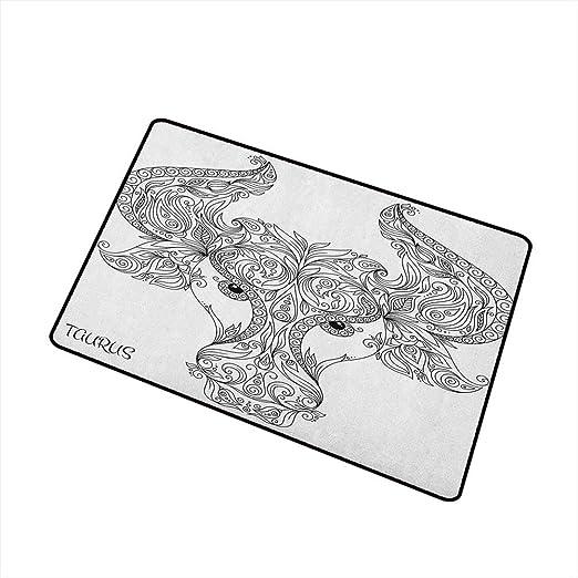 Wang Hai Chuan Zodiac Virgo tapete para Puerta Delantera, Figura ...