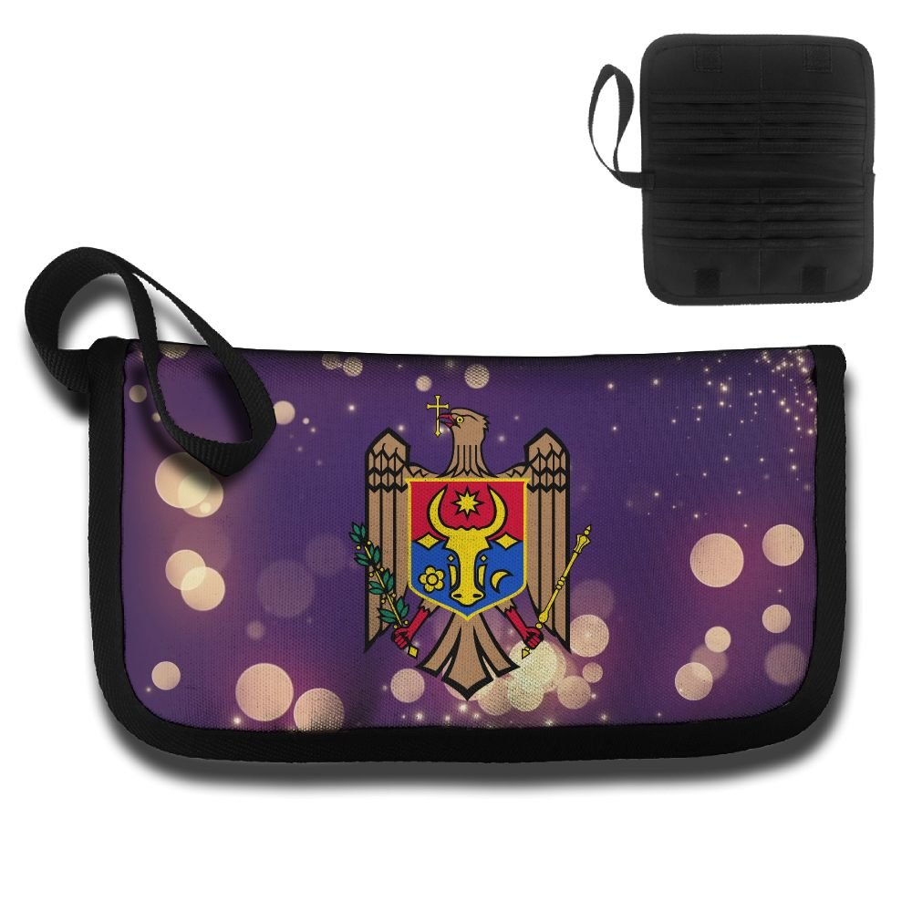 Moldova Coat Of Arms Travel Wallet Passport Holder Document Organizer