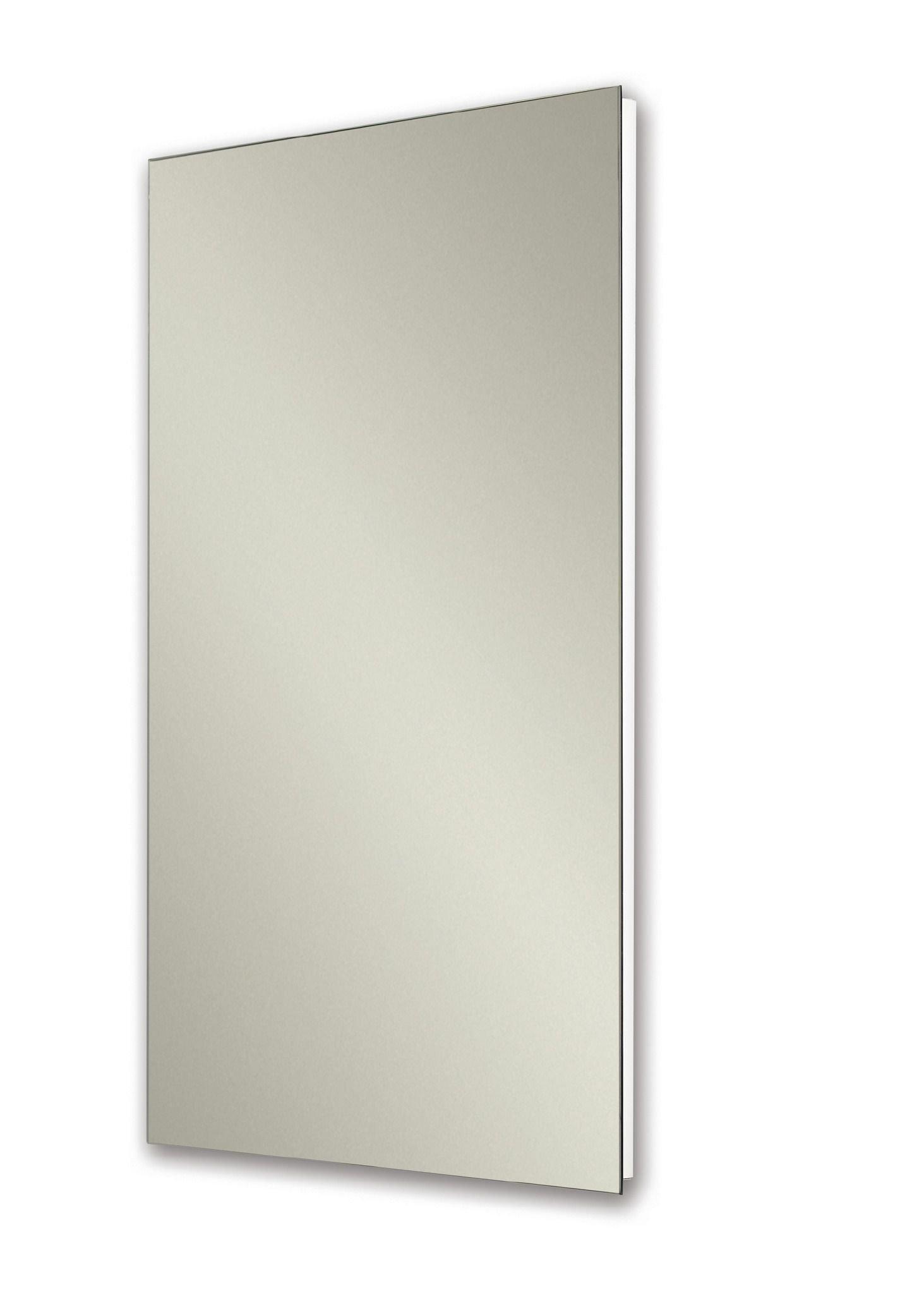 Jensen 1035p24whgx Polished Edge Mirror Medicine Cabinet