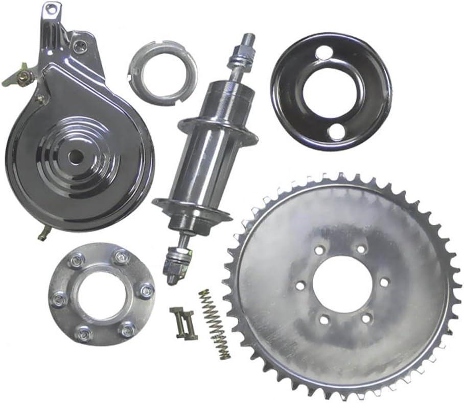 Gas Bike Rear Axle Upgrade BBR Tuning 2-Stroke//4-Stroke Motorized Bicycle Non-Free Wheel Heavy Duty Axle Kit