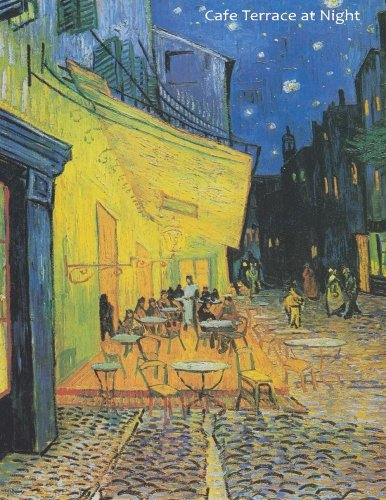 - Cafe Terrace at Night: By Vincent van Gogh: A Large (8.5