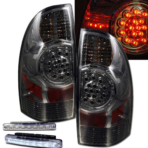 61XJYQJvj2L amazon com 2005 2008 toyota tacoma led smoke tail lights rear Toyota Tacoma Schematics at fashall.co