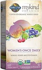 Garden of Life Multivitamin for Women mykind Organics Women's Once Daily