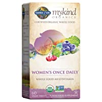 Garden of Life Multivitamin for Women - mykind Organic Women's Once Daily Whole...