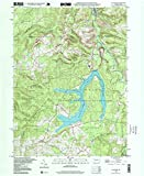 Coalport PA topo map, 1:24000 scale, 7.5 X 7.5 Minute, Historical, 1998, updated 1999, 26.8 x 22 IN - Paper