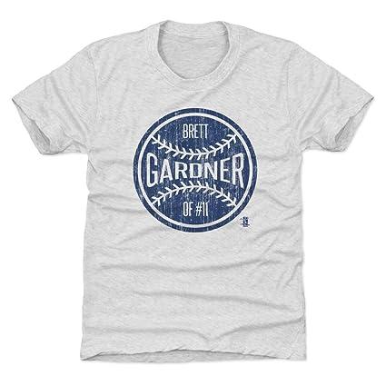 Amazon.com   Brett Gardner New York Baseball Kids Shirt - Brett ... d5654adc1ff
