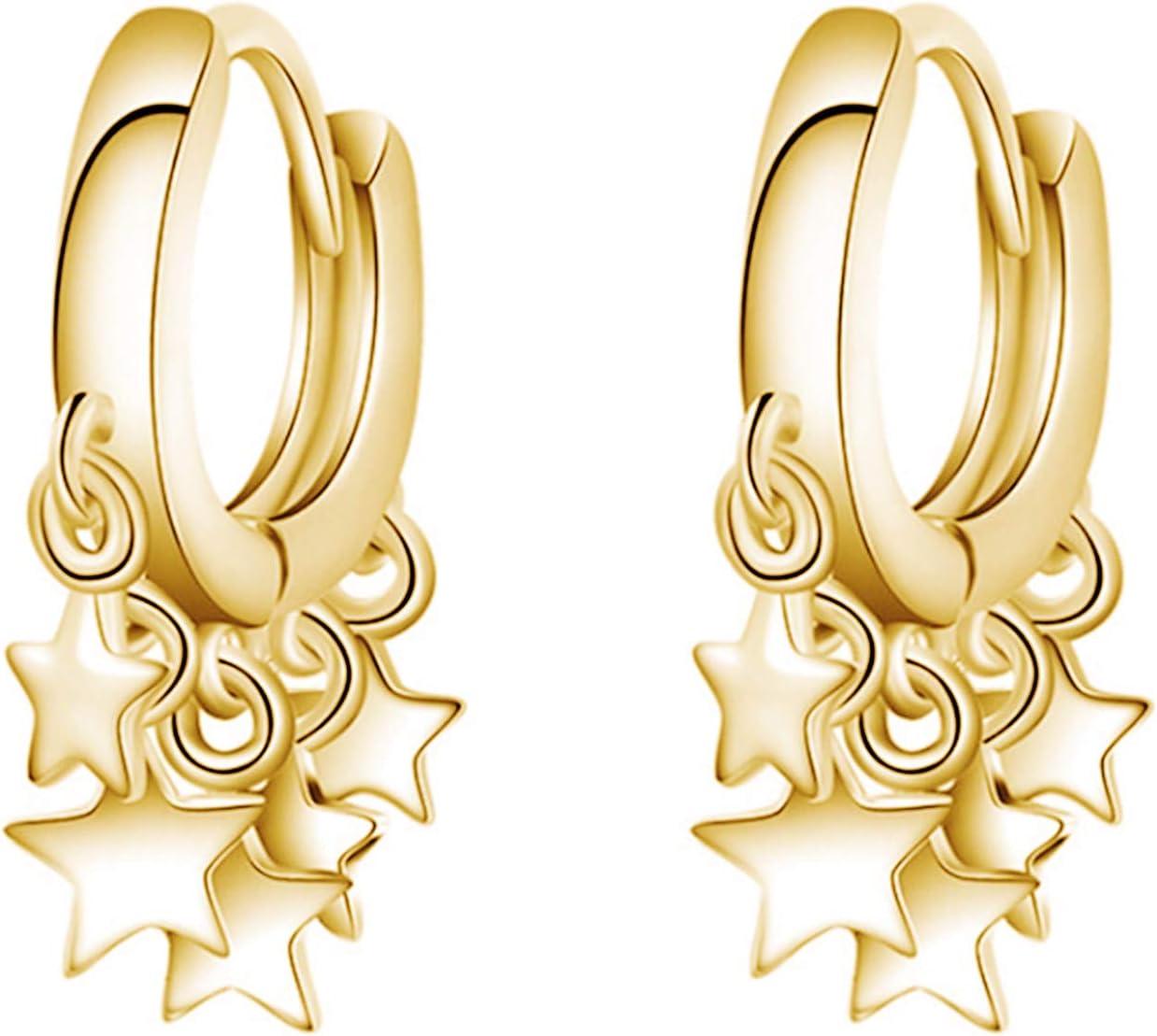 Pendientes, Las Mujeres De La Moda De Oro De La Estrella De La Borla De Aro Pendientes De Oído De
