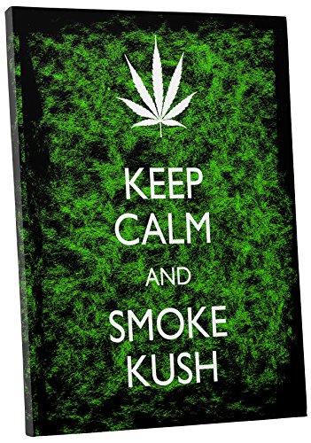 Pingo World - Keep Calm Green Smoke Kush Cannabis wall decorations