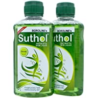 Boroline Suthol Antiseptic Skin Liquid NATURAL (200 ml)-Pack of 2