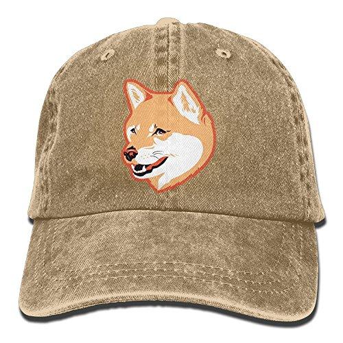 Qbeir Cute Dog Adjustable Adult Cowboy Cotton Denim