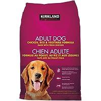 Kirkland Signature Chicken and Rice and Vegetable Formula for Adult Dog Net Wt 18.14 Kg, 18.14 Kilogram