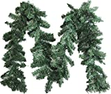 Artfen Artificial Pine Christmas Garland Christmas Decoration 89ft