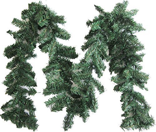 Artfen Artificial Pine Christmas Garland Christmas Decoration 89ft (Large Image)