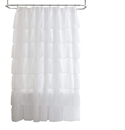 Amazon Chezmoi Collection Crushed Voile Sheer Shabby Chic