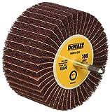 DEWALT DAFE7L1010 4-Inch by 1 3/4-Inch by 1/4-Inch 100g Finshing Flap Wheel