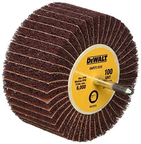 DEWALT DAFE7L1010 4-Inch by 1 3/4-Inch by 1/4-Inch 100g Finshing Flap Wheel by DEWALT
