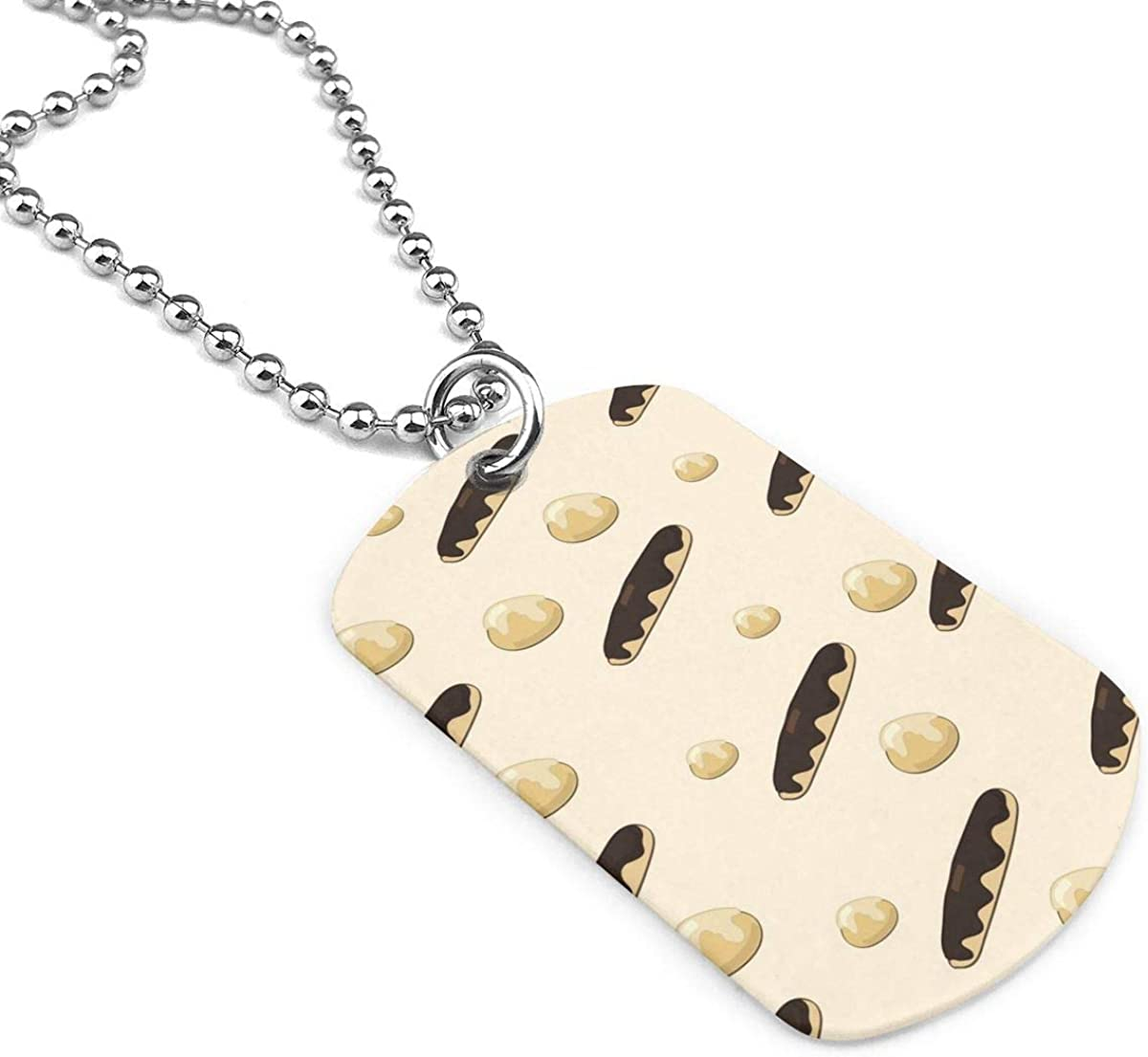 Pattern With Guitars Jewelry Military Pendant Brand Necklace Metal Dog Tag