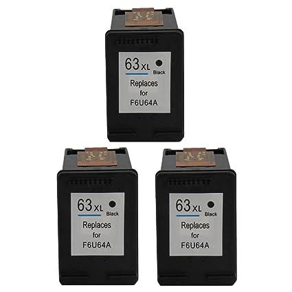 ColorStar 3 unidades negro Compatible cartucho de tinta para ...