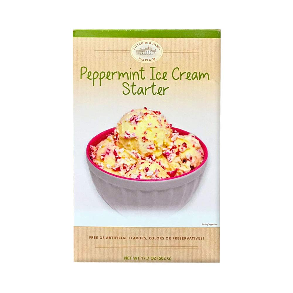 Little Big Farm Foods Peppermint Ice Cream Starter Mix by Little Big Farm Foods