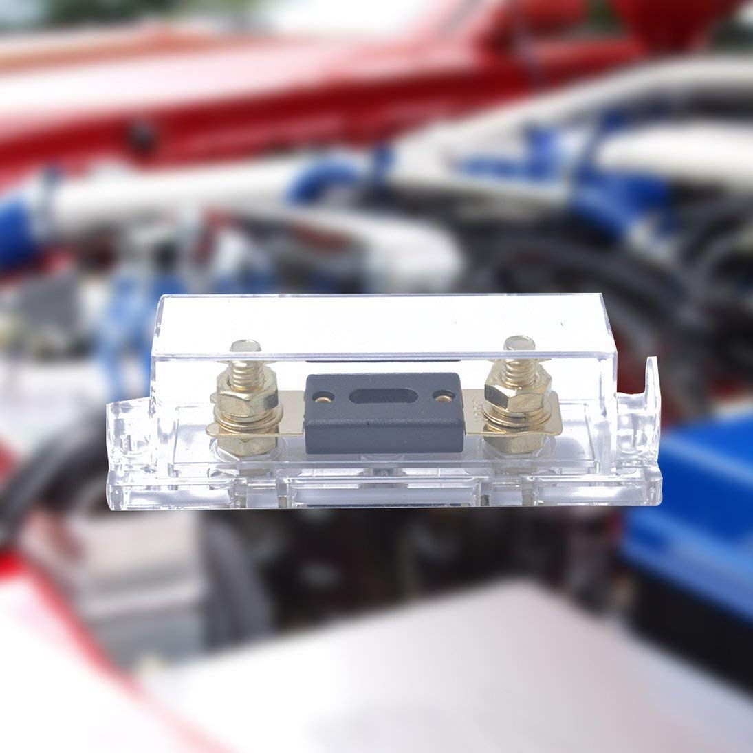 Portable 300A ANL Fuse with Fuse Holder ANL Transparent Bottom Seat Auto Accessories Replacement
