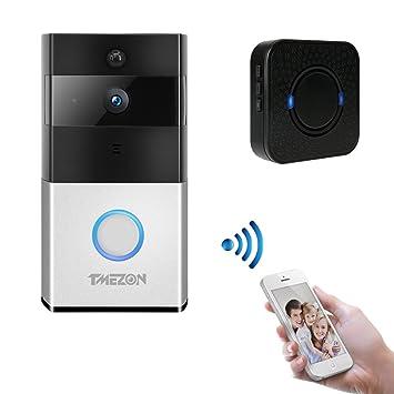TMZON de Video IP Inteligente de Tmezon, teléfono con Puerta de ...